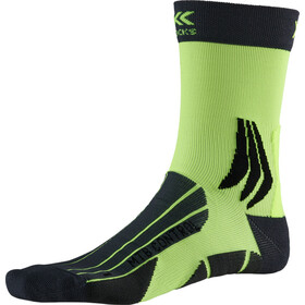 X-Socks MTB Control Calcetines, charcoal /phyton yellow